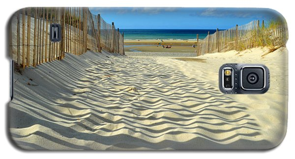 Sultry September Beach Galaxy S5 Case