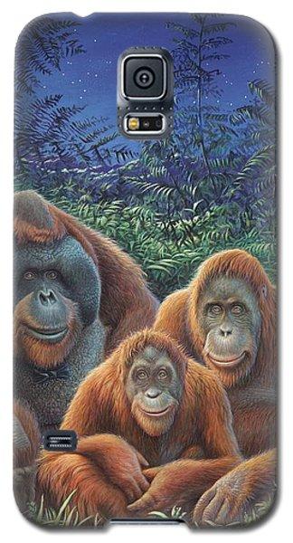 Sumatra Orangutans Galaxy S5 Case