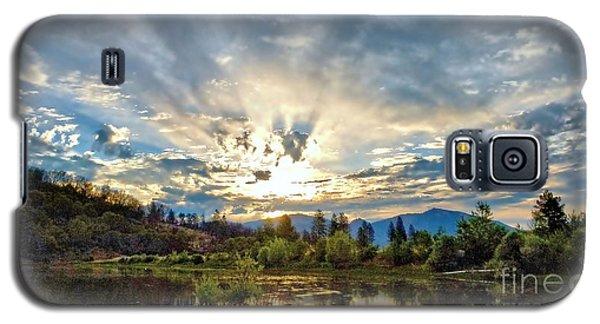 Sumer Solstice Sunrise Galaxy S5 Case