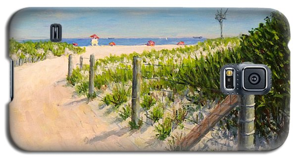Galaxy S5 Case featuring the painting Summer 12-28-13 by Joe Bergholm