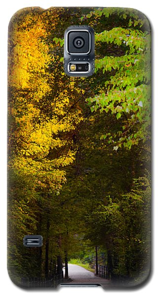 Summer And Fall Collide Galaxy S5 Case