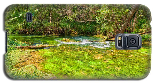 Galaxy S5 Case featuring the photograph Summer At Alley Springs by John M Bailey