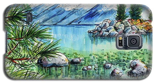 Summer At Lake Tahoe Galaxy S5 Case by Terry Banderas