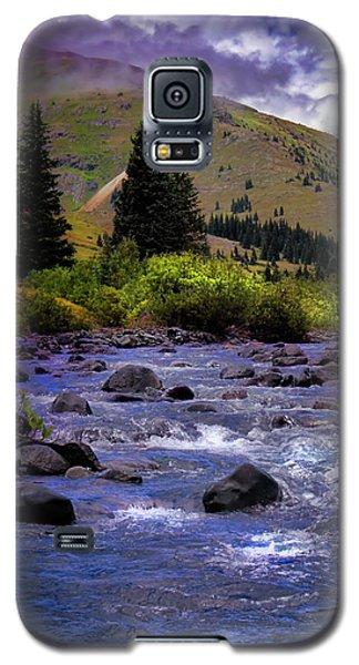 Galaxy S5 Case featuring the photograph Summer At The Animas River by Ellen Heaverlo