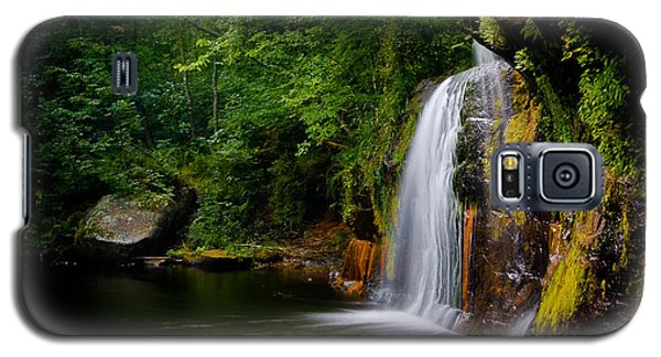 Summer At Wolf Creek Falls Galaxy S5 Case