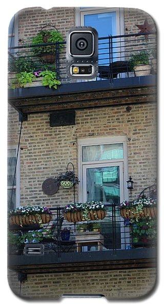 Summer Balconies In Chicago Illinois Galaxy S5 Case