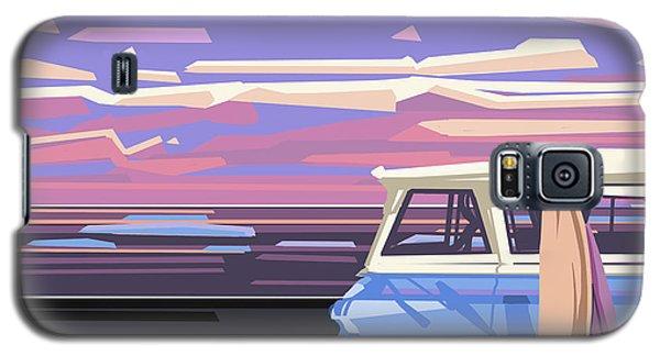 Summer Galaxy S5 Case by Bekim Art