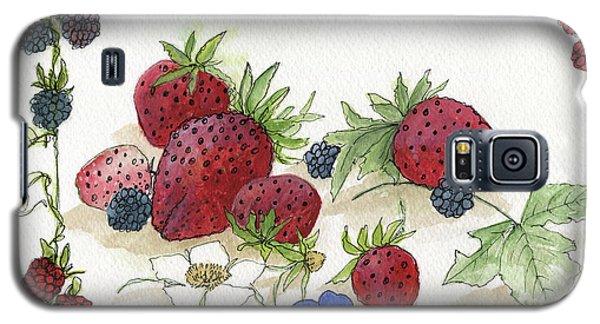 Summer Berries Galaxy S5 Case