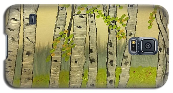 Summer Birches Galaxy S5 Case by Paula Brown