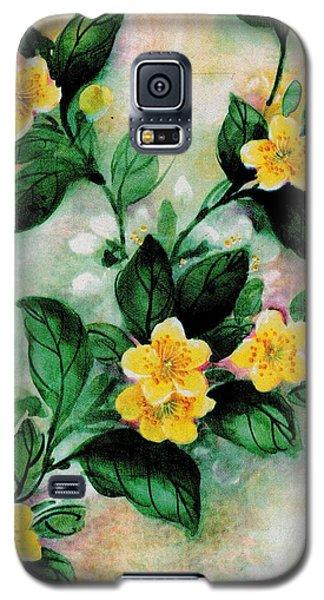 Summer Blooms Galaxy S5 Case