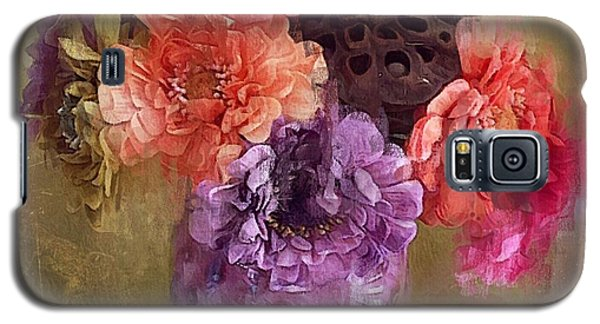 Galaxy S5 Case featuring the digital art Summer Bouquet by Alexis Rotella