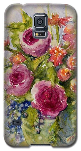 Summer Bouquet Galaxy S5 Case by Judith Levins