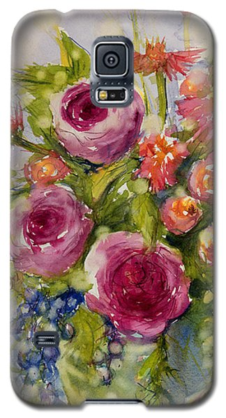 Summer Bouquet Galaxy S5 Case