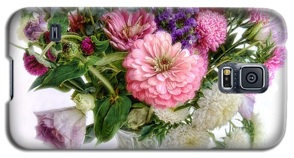 Galaxy S5 Case featuring the photograph Summer Bouquet by Louise Kumpf
