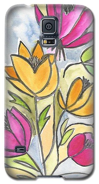 Summer Bouquet Galaxy S5 Case