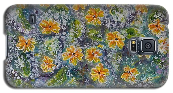Spring Bouquet Galaxy S5 Case by Theresa Marie Johnson