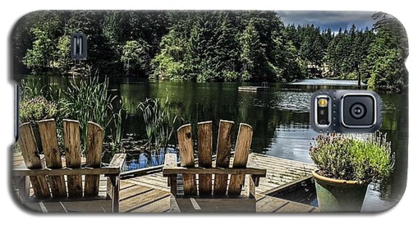 Summer By Eagle Lake Galaxy S5 Case by William Wyckoff