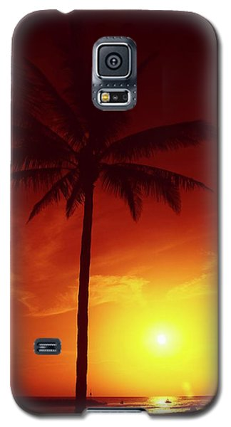 Summer By The Sea Galaxy S5 Case