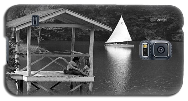 Summer Camp Black And White 1 Galaxy S5 Case