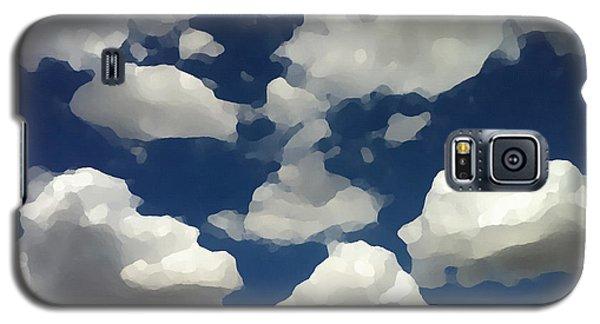 Summer Clouds In A Blue Sky Galaxy S5 Case