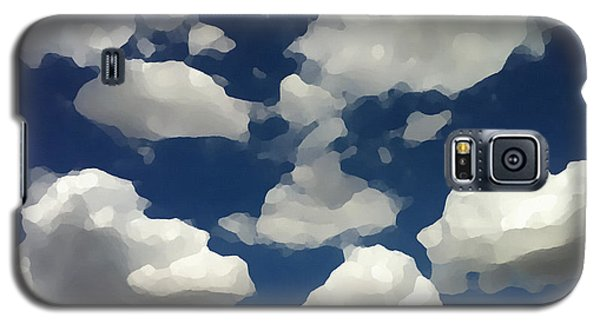 Summer Clouds In A Blue Sky Galaxy S5 Case