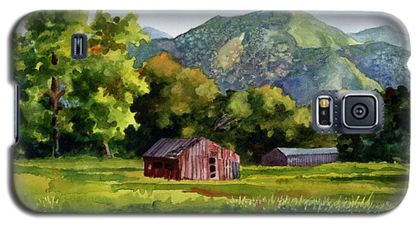 Galaxy S5 Case featuring the painting Summer Evening by Anne Gifford