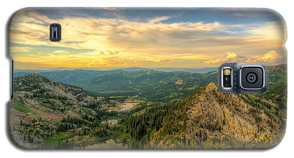 Summer Evening View From Sunset Peak Galaxy S5 Case