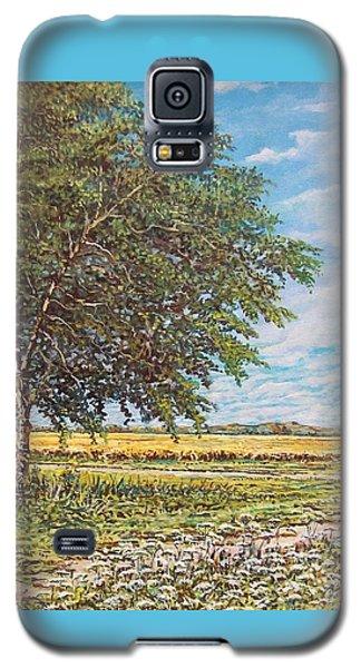 Summer Field Galaxy S5 Case