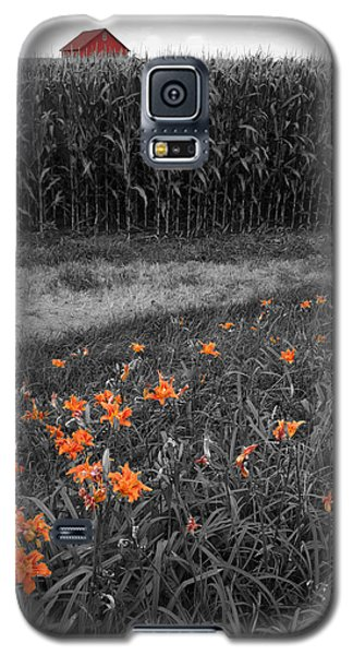 Galaxy S5 Case featuring the photograph Summer Fields by Dylan Punke