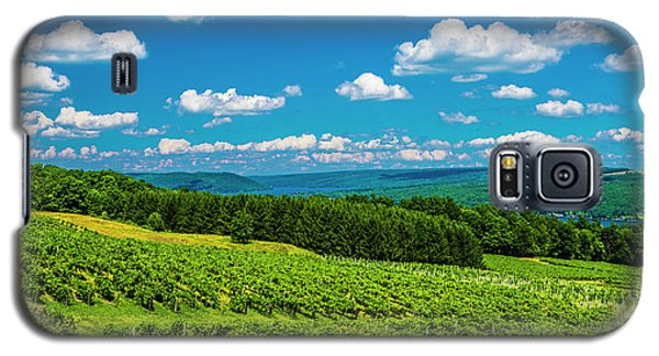 Galaxy S5 Case featuring the photograph Summer Fields by Steven Ainsworth