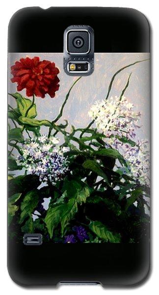 Summer Flowers 1 Galaxy S5 Case