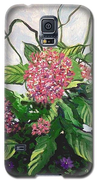 Summer Flowers 2 Galaxy S5 Case