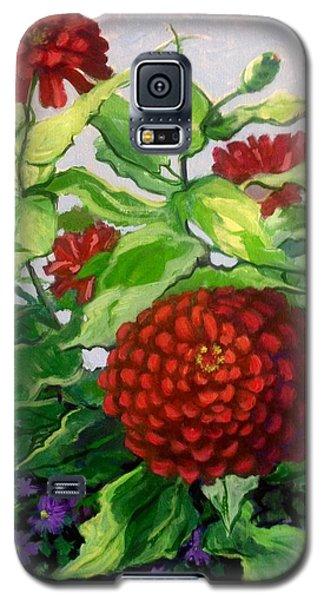 Summer Flowers 3 Galaxy S5 Case