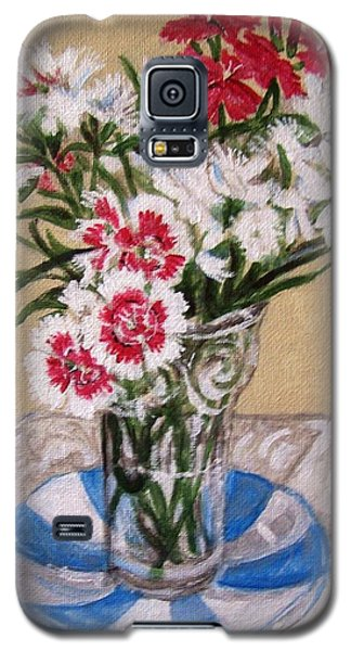 Summer Flowers Galaxy S5 Case