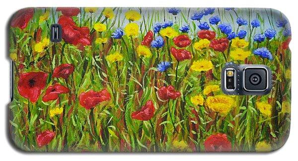 Summer Flowers Galaxy S5 Case