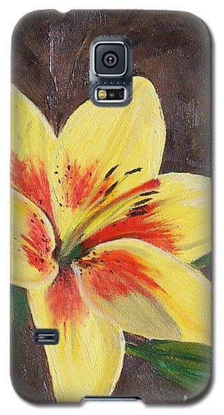 Galaxy S5 Case featuring the painting Summer Glow by Bonnie Heather