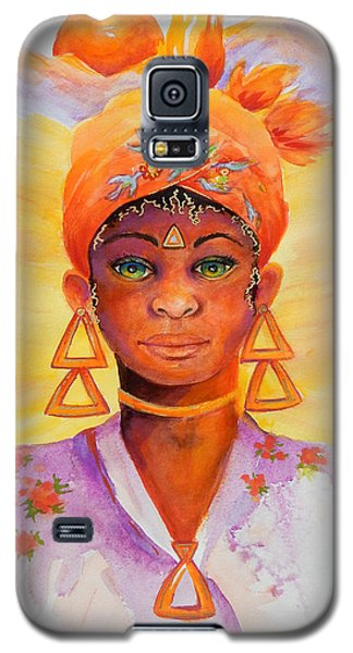 Summer Goddess Galaxy S5 Case