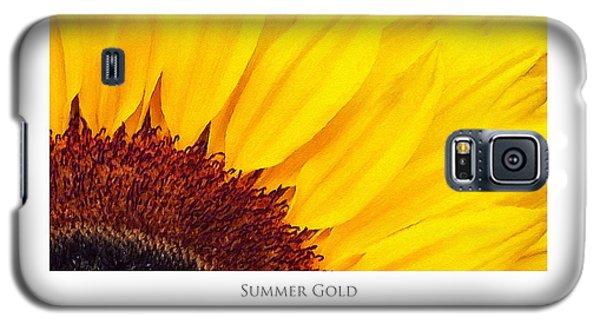 Summer Gold Galaxy S5 Case