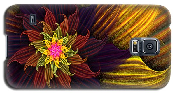 Summer Harvest Flower Galaxy S5 Case