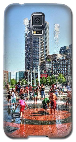 Summer In Boston Galaxy S5 Case