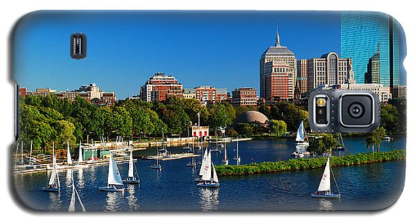 Galaxy S5 Case featuring the photograph Summer In Boston by James Kirkikis