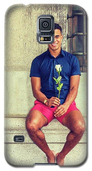 Summer In City Galaxy S5 Case