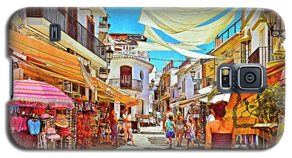 Galaxy S5 Case featuring the photograph Summer In Malaga by Mary Machare