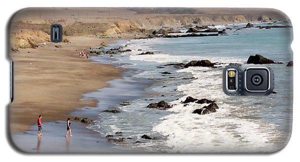 Galaxy S5 Case featuring the photograph Summer In San Simeon by Art Block Collections