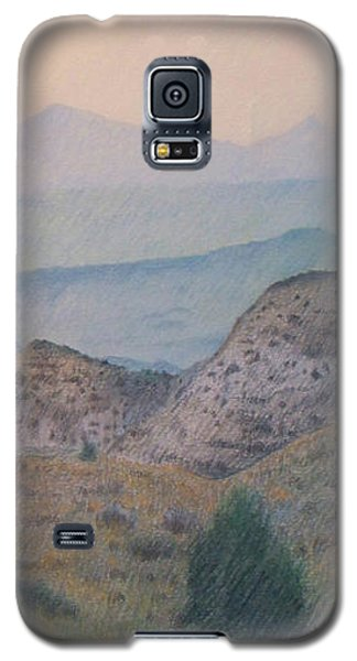 Summer In The Badlands Galaxy S5 Case