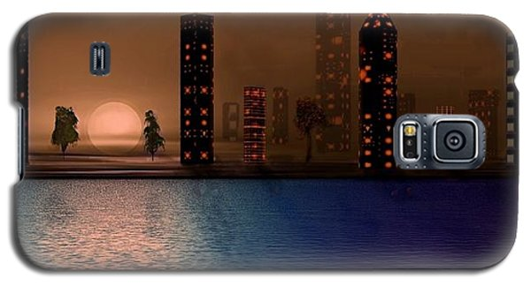 Summer In The City Galaxy S5 Case