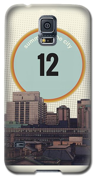 Galaxy S5 Case featuring the photograph Summer In The City by Phil Perkins