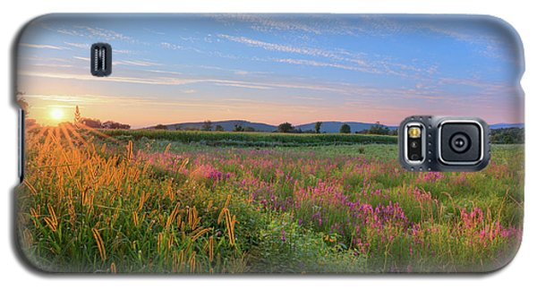Galaxy S5 Case featuring the photograph Summer In The Hills 2017 by Bill Wakeley