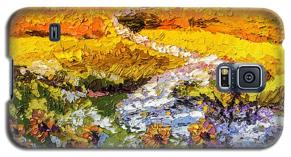 Summer Landscape Sunflowers Provence Galaxy S5 Case