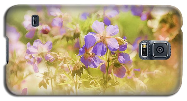 Galaxy S5 Case featuring the photograph Summer Meadow by Elaine Manley